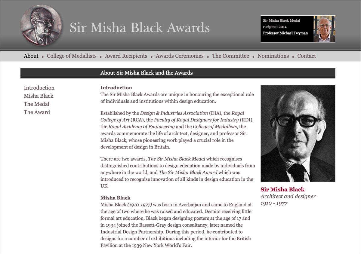 Sir Misha Black Awards