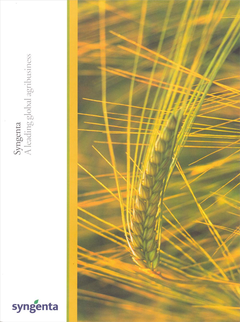 Syngenta Launch Brochure
