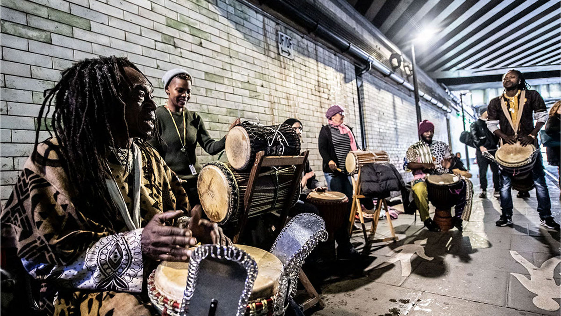 People's Platform: African Drummers