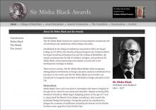 Sir Misha Black Awards